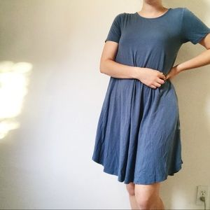 Tee Shirt Dress with Pockets
